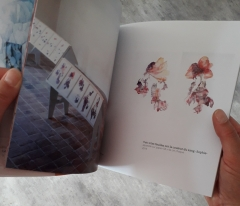 patricia cartereau, catalogue exposition, musée-château Tournon sur rhône, dessin, peinture