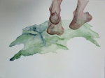 patricia cartereau, art contemporain, aquarelle