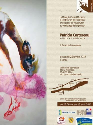 Patricia Cartereau, exposition, Montrelais